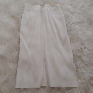 Altuzarra Skirts - Altuzarra White Slit Skirt